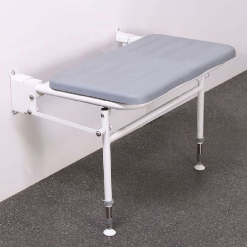 DTUK77 Wall-Mounted Doc M Bariatric Shower Seat with Legs